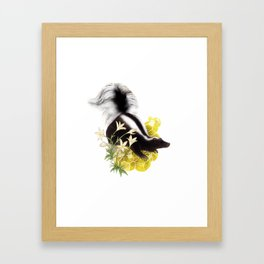 Skunk and Sulfur Crystals Framed Art Print