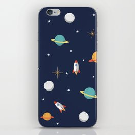 Space Pattern iPhone Skin
