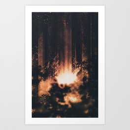 ESCAPE Art Print