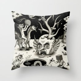 The Ways of the Wicked Throw Pillow