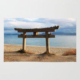 Naoshima Torii Rug