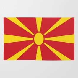 Flag of Macedonia - Macedonian,skopje,Bitola,Kumanovo,Prilep,Balkan,Alexander the great,Karagoz,red Rug