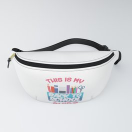 Back to School Shirt For Teacher or Student Fanny Pack