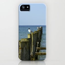 Pilings iPhone Case
