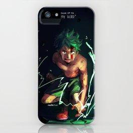 Midoriya iPhone Case