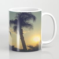 florida Mugs featuring Florida by Jillian Stanton