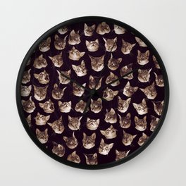 Oh my Cat! Wall Clock
