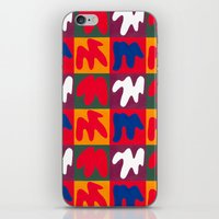 matisse iPhone & iPod Skins featuring M for Matisse by CHOCOLORS