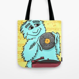 Jazz loving Yeti Tote Bag