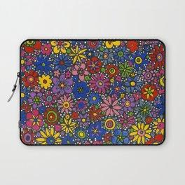 Mille Fleurs by Nettwork2Design - Nettie Heron-Middleton Laptop Sleeve