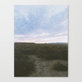 Of The Beaten Track In New Mexico Canvas Print
