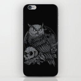 night watcher iPhone Skin