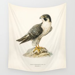 Peregrine Falcon (Falco peregrinus) illustrated by the von Wright brothers Wall Tapestry