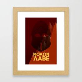 Thermopylae Framed Art Print