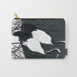 Japanese Cranes / Sayuri Carry-All Pouch