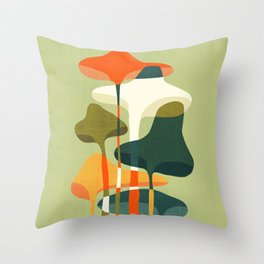 Little mushroom Throw Pillow