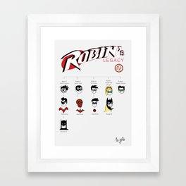 Robin's Legacy Framed Art Print