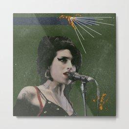 Amy.  Metal Print
