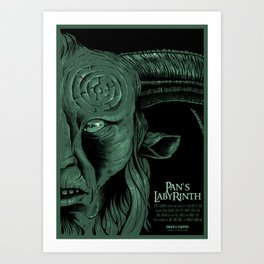 Pan's Labyrinth Art Print