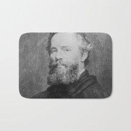Joseph Oriel Eaton -portrait of Herman Melville Bath Mat