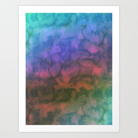 Waterscape 005 Art Print
