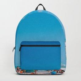 Beach large blue sky Backpack