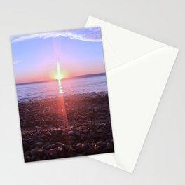 Sunset at Lake Huron Ontario Canada Stationery Cards