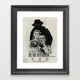 R. W. Framed Art Print