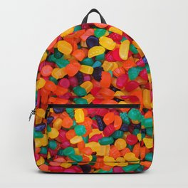 Jujubes Gummy Candy Photo Pattern Backpack