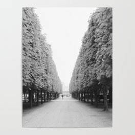 Jardin du Palais Royal / Paris Poster