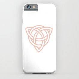 Triquetra or Celtic Knot iPhone Case