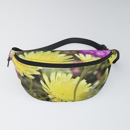 Desert Wildflowers by Reay of Light Photography Fanny Pack