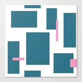 Geometric Ties Canvas Print