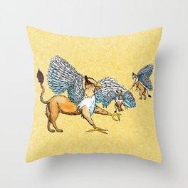 Griffins Family  Throw Pillow