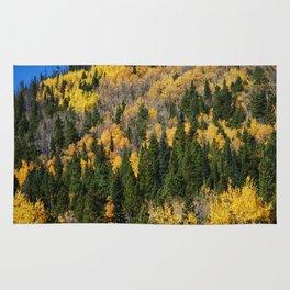 Fall at the Rockies Rug