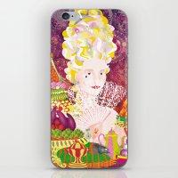 marie antoinette iPhone & iPod Skins featuring Marie-Antoinette by Caroline Krzykowiak