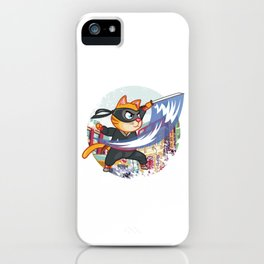 Cat Ninja Manga  Anime Japanese Manga Fans Gift iPhone Case
