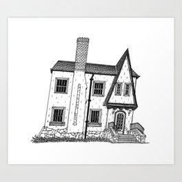 Calhoun House I Art Print