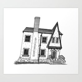 Calhoun House I Art Print