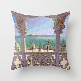 Torre de Belem, Lisboa Throw Pillow