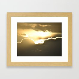 head in the clouds - tina stenford 9 Framed Art Print