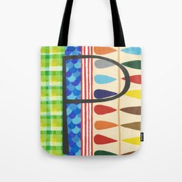 P is for Pattern Tote Bag