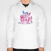 sylveon Hoodies featuring Sylveon Pile by Black Howl