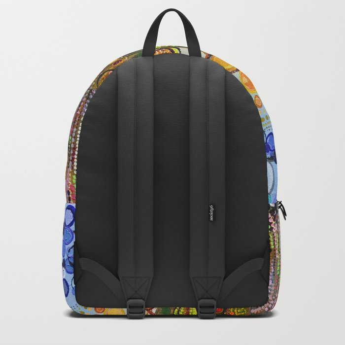 :: Indiana Blue Willow :: Backpack