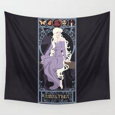 Amalthea Nouveau - The Last Unicorn Wall Tapestry