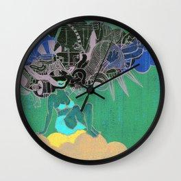 Finding My Way Wall Clock