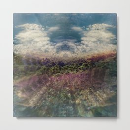 Forest Island Metal Print