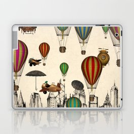 Vintage Old City Laptop & iPad Skin
