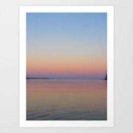 Colourful Sunrise Art Print