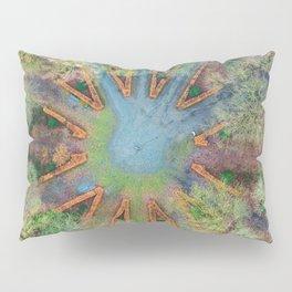 Natural clock green Pillow Sham